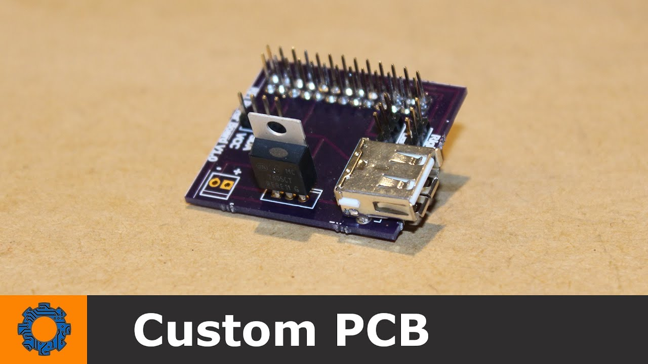 Hobby Electronics - Custom PCB for RPi Rover