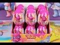 Learn Nursery Rhymes Trolls Surprise eggs toy opening, Twinkle Twinkle Little Star, spinner