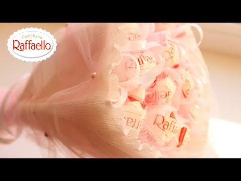 Как сделать Букет из Конфет Рафаэлло /   Bouquet from Sweets Raffaello