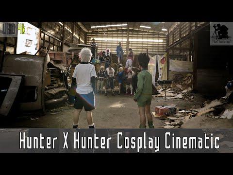 [4k UHD] Hunter X Hunter Phantom Troupe Cosplay Cinematic