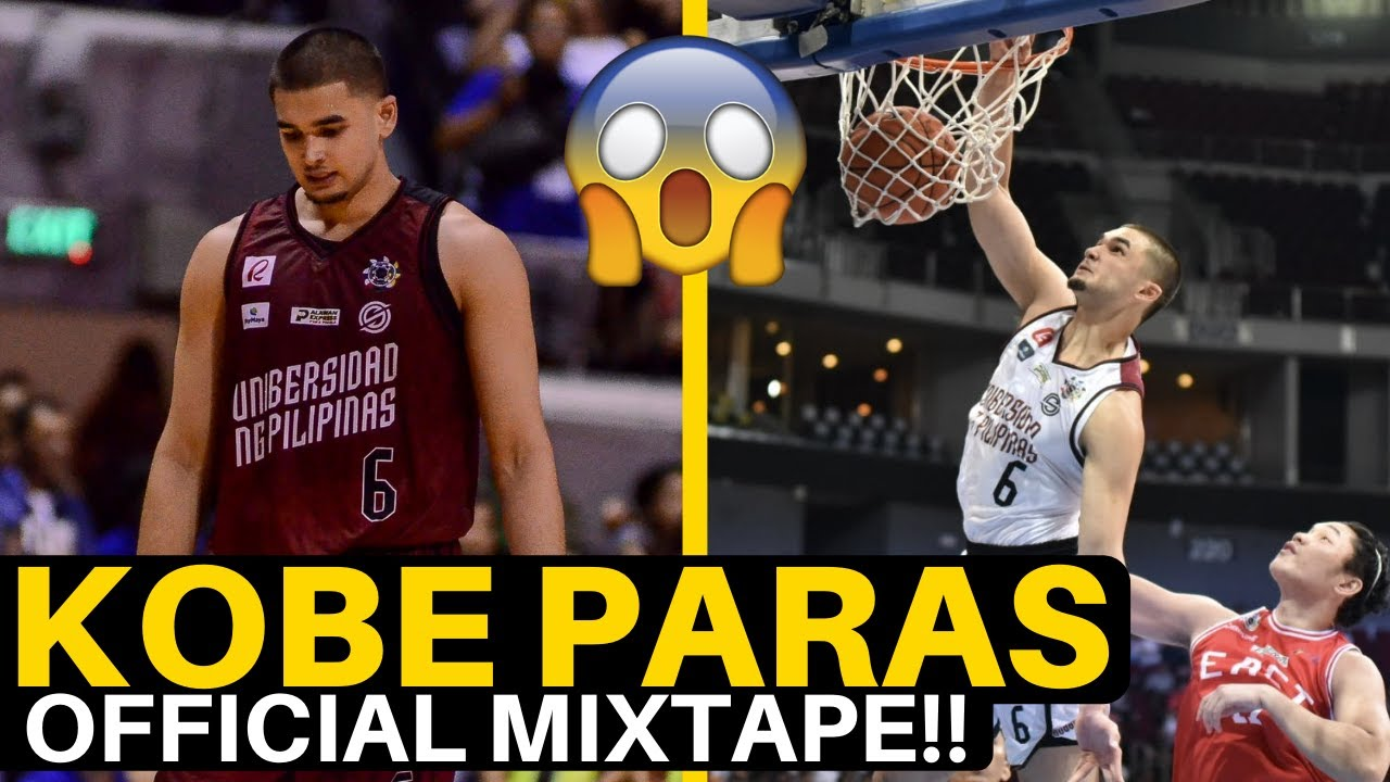 Kobe Paras the BEST PLAYER in the Philippines?? | Official MIXTAPE!!
