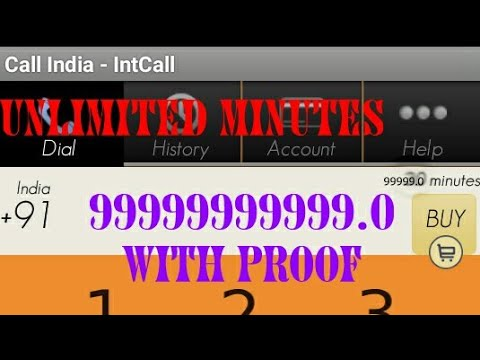 Call india-intacall hack unlimited minutes 100% work||2018||by DPSS AJAY  TECH