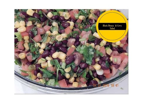 Black Beans And Corn Salad | Quick And Easy Side Dish