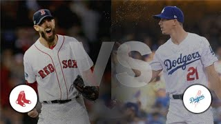 Red Sox VS Dodgers World Series Game 3 | Red Sox Lead Series 2 to 0 Live Stream