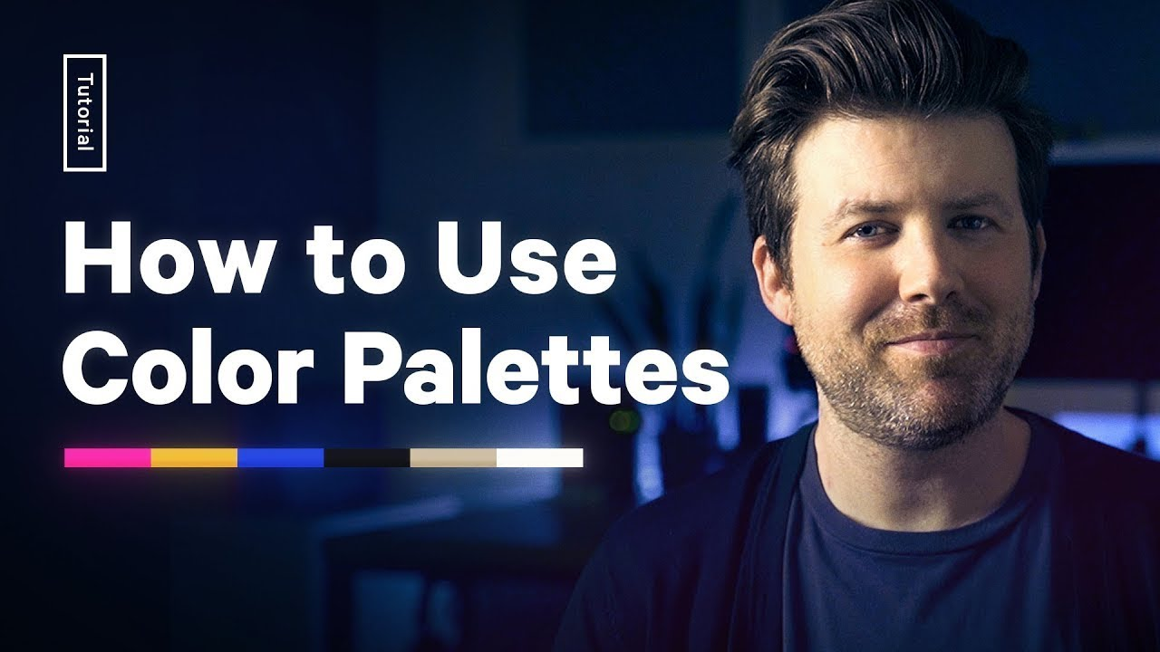 How To Apply A Color Palette To Your Design Tutorial Youtube