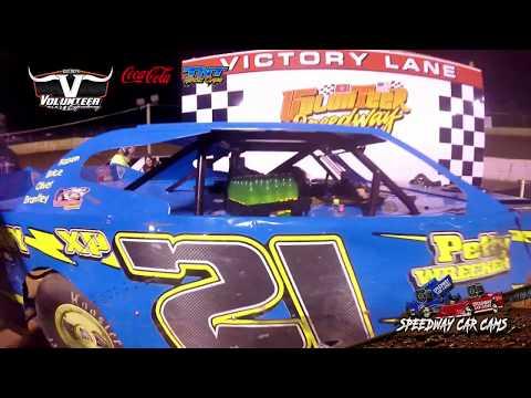Winner #XP21 Chris Rickett - Mod Street - 10-12-19 Volunteer Speedway - In-Car Camera