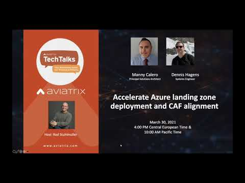 TechTalk: Accelerate Azure landing zone deployment and CAF alignment
