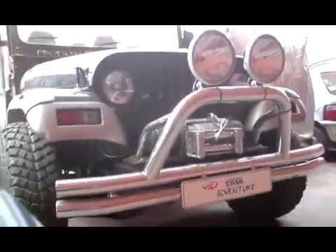Mahindra Thar Adventure 4x4 customized Indian off-roader