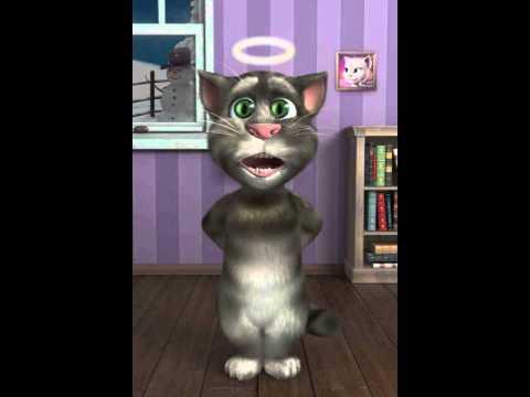 Talking Tom cat: I like to move it, move it