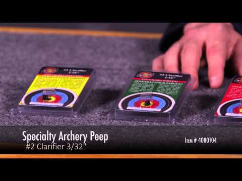 Specialty Archery Peep Clarifiers Review At LancasterArchery.com