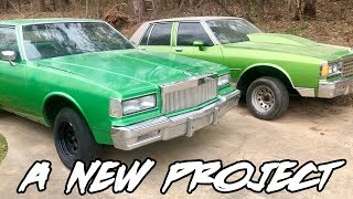 ANOTHER NEW PROJECT CAR ADDED TO THE CHANNEL!! A NEW BOX CHEVY