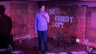 Pete Bladel at the DC Comedy Loft