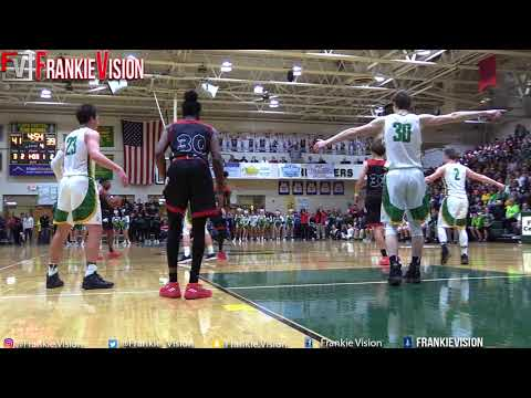 Romeo Langford dehydrated vs Cheating Refs and Floyd Central | in front of IU Coach