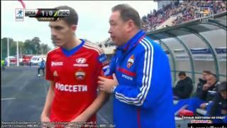 ЦСКА 1-0 Ростов / Гол Базелюк / 14.09.2013