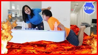 Baixar The Floor is Lava + Bottle Flip + Mannequin + Fidget Spinners Challenge!!!
