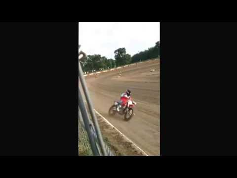 Peoria Speedway flat track motorcycle races 5/27/16 (mash up)