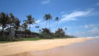Strand am Long Beach Hotel in Koggala - Sri Lanka