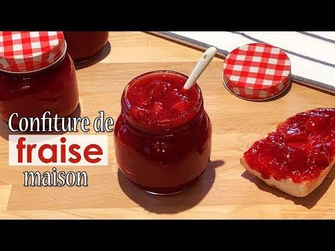 confiture-de-fraises-maison-facile,-rapide-et-allégée-en-sucre