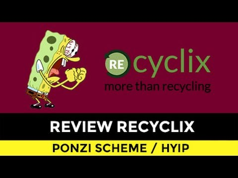 REVIEW RECYCLIX PONZI. FAKE RECYCLING FACTORY THEY CAN'T SHARE THE ADDRESS.