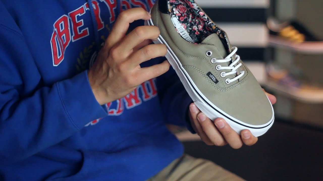4bff5d0a257 Vans Era 59 Skate Shoe Review - Tactics.com - YouTube