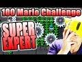 INVISIBLE BLOCKS!!! ~ Super Mario Maker [100 MARIO SUPER EXPERT]