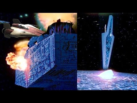 How Did a Single Rebel Starfighter Take Down the Executor?