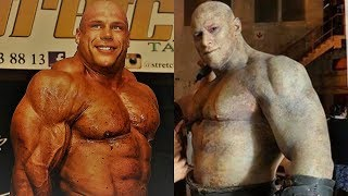 Martyn Ford VS Morgan Aste | Giants training/workout