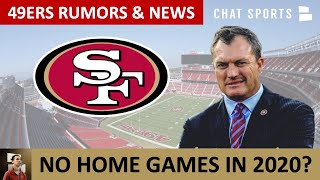 49ers Rumors & News: No Home Games In 2020? Trent Williams Injury Concerns? 49ers Roster Moves?