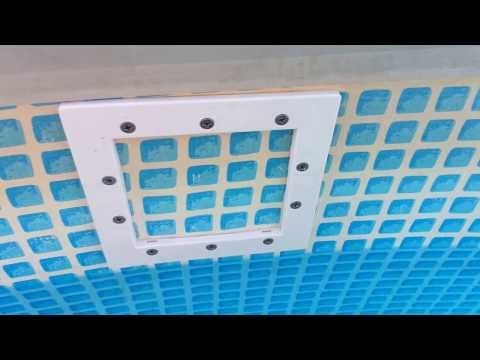 poolskim automatic pool surface skimmer installation with. Black Bedroom Furniture Sets. Home Design Ideas