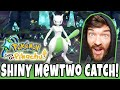 LIVE SHINY MEWTWO CATCH REACTION Pokemon Let's GO Pikachu! 587 Soft Resets + Mega Evolution X & Y!