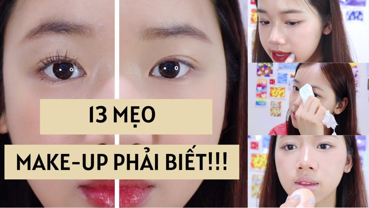 13 MẸO MAKEUP PHẢI BIẾT!!! (Từ những chuyên gia trang điểm Hàn Quốc 🇰🇷)
