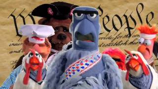 Stars & Stripes FOREVER! | Muppet Music Video | The Muppets