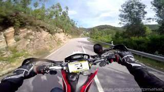Supermoto Awesome Twisty Road - Husqvarna 510 SMR [RAW]