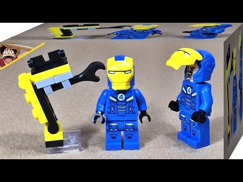 Elephant 아이언맨 판타스틱 버전 슈트 레고 짝퉁 미니피규어 Lego knockoff iron man mark Fantastic 4