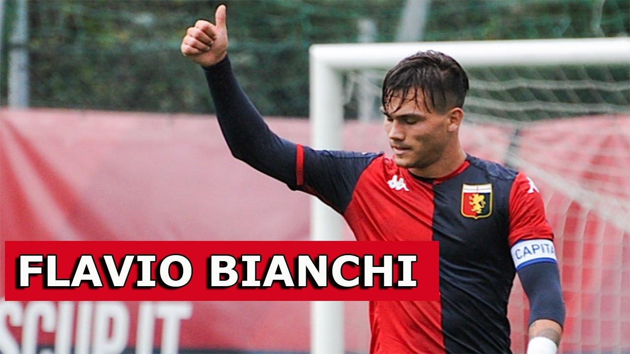 FLAVIO BIANCHI, la Scheda: attaccante, Genoa, U19