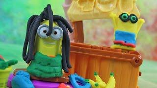 DIY - Plaża Minionków | Play-Doh | Kreatywne Zabawy