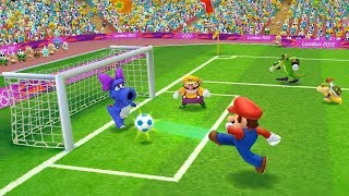 Mario & Sonic At The London 2012 Olympic Games Football Sonic, Mario, Bowser and Vector