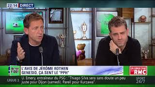 After Foot du jeudi 12/10 – Partie 1/6 - L'avis tranché de Jérôme Rothen sur l'OL
