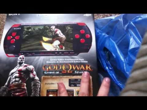 God of War Ghost of Sparta Red and Black PSP Unboxing