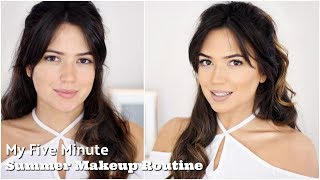 My 5 Minute Makeup Look | I missed you!!