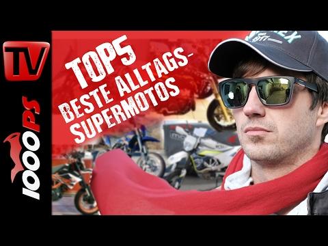 Top 5 - Die besten Supermotos für den Alltag