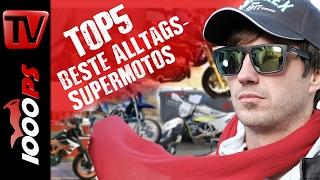 Top 5 - Die besten Supermotos für den Alltag - Gebrauchte alltagstaugliche Supermoto kaufen