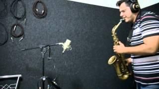 Mr.Feeling - Gravação de sax em take sem cortes por Felipe GImenes