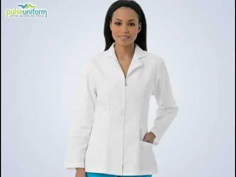 Urbane Lab Coats - 3109 Essentials Slim Women Medical Lab Coat