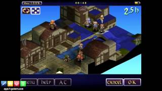 Final Fantasy Tactics: War of the Lions HD New Version (iOS) Gameplay