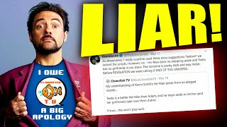 KEVIN SMITH LIED ABOUT HE-MAN! CLOWNFISH TV WAS RIGHT!