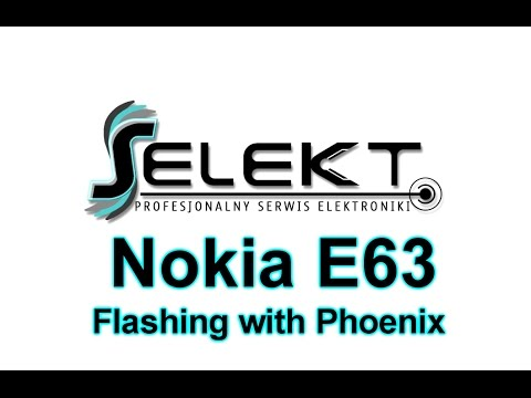 Nokia E63  RM-437 Flashing Latest Software with Phoenix | Selekt