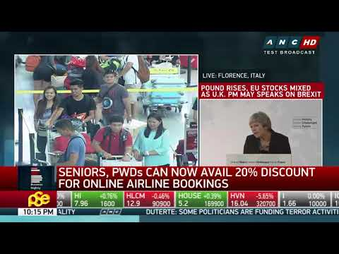Seniors can now avail of 20-pct discount for airline bookings online