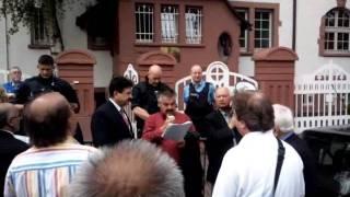 Demo of afghans in Frankfurt Pakistan Consulat 2