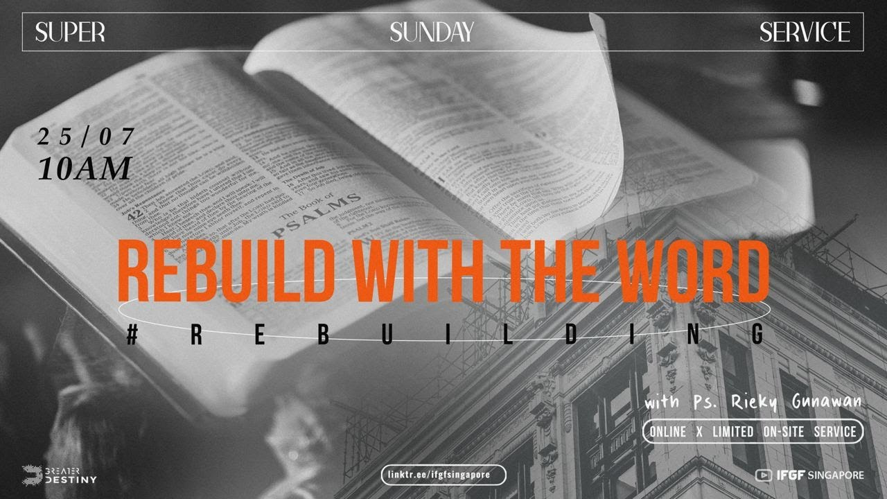 LEADING INSIDE OUT: Rebuild with the Word - Ps Rieky Gunawan #REBUILDING